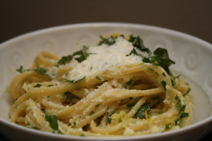 Meatless Mondays: Lemon Spaghetti