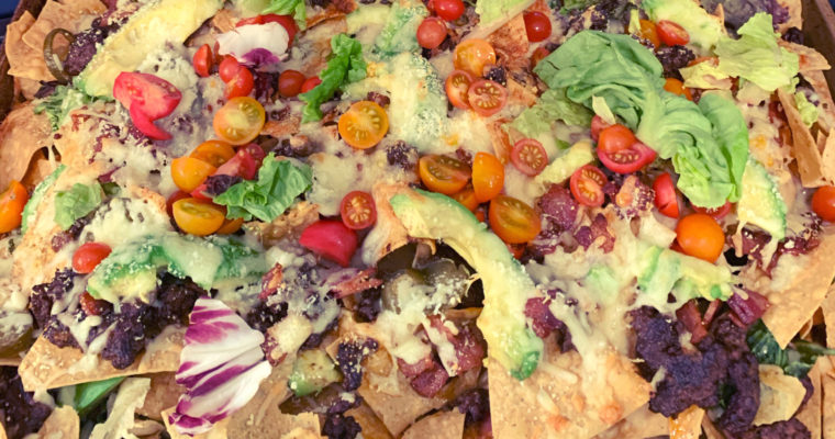 Game Day Food: Loaded Nachos