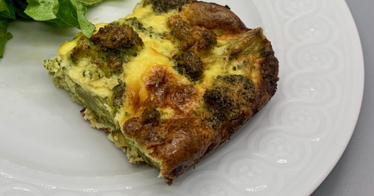 Meatless Mondays: Broccoli Kugel