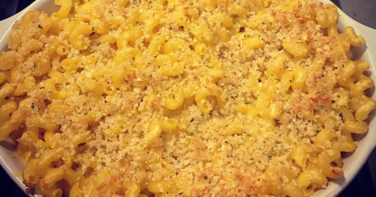 Butternut Squash Macaroni & Cheese