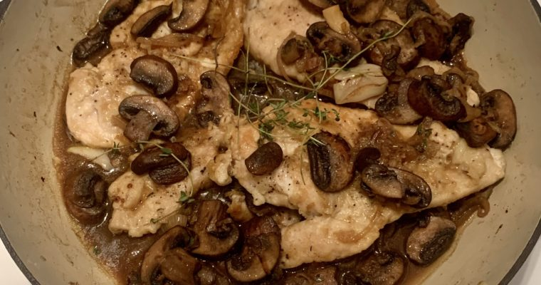 One-Pan Chicken Marsala